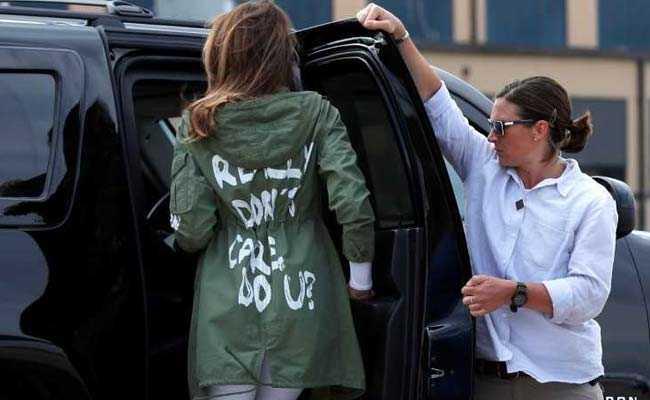 """Melania Trump w ogniu krytyki z powodu """"bezdusznego"""" wyboru garderoby"""