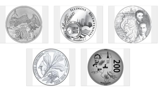 Rozpoczęło się głosowanie na jubileuszową monetę Illinois