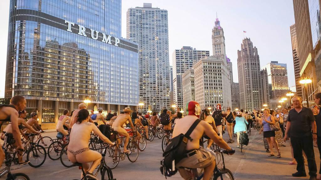 W Chicago znowu pojawią się nadzy rowerzyści
