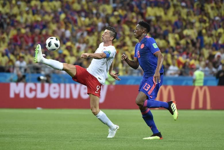 Robert Lewandowski po meczu z Kolumbią: Wycisnęliśmy maksimum z tego, co mogliśmy