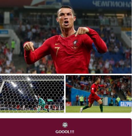 MŚ: Remis Portugalii z Hiszpanią. Ronaldo ustalił wynik meczu