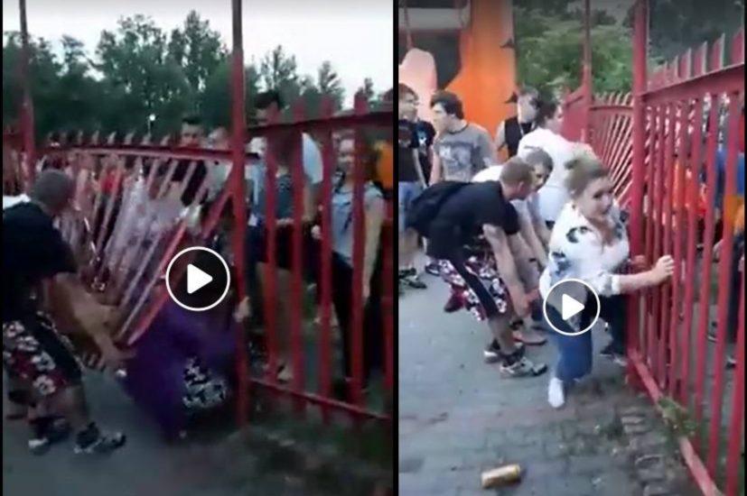 Skandal na Dniach Rudy Śląskiej. Napierający tłum wyłamał płot, żeby wejść na koncert