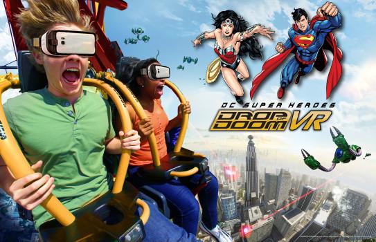 Nowa atrakcja dla odważnych w Six Flags Great America