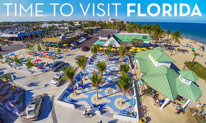 Rekordowa liczba turystów na Florydzie