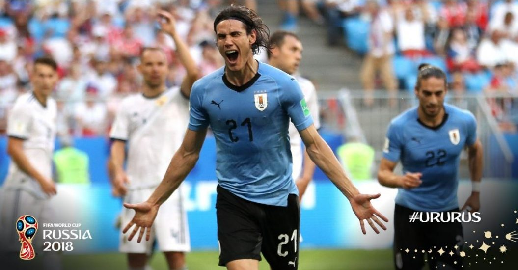 Gospodarze zdeklasowani. Urugwaj kończy przed Rosją w grupie A