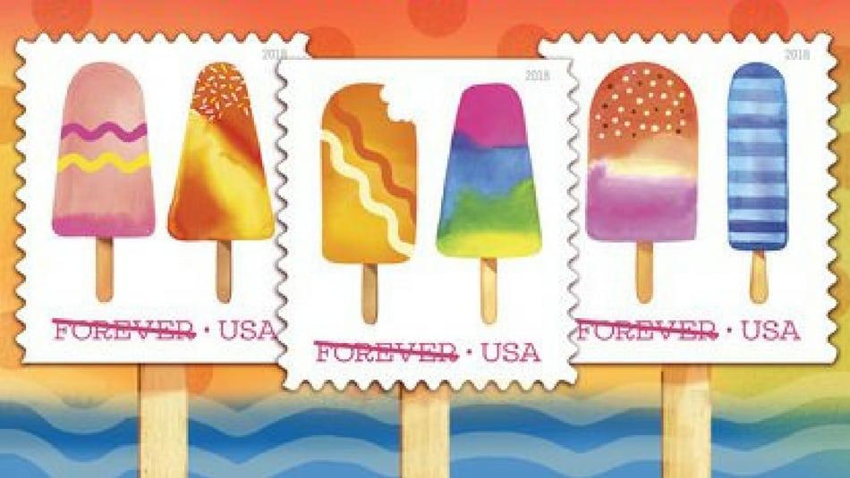 Amerykańska poczta przygotowała kolekcję zapachowych znaczków