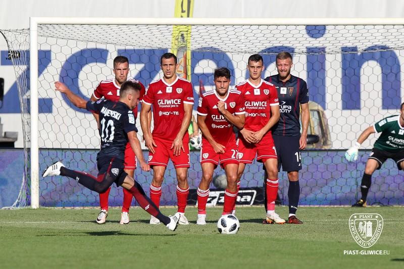 Eliminacje Ligii Mistrzów:  Piast odpadł w 1. rundzie