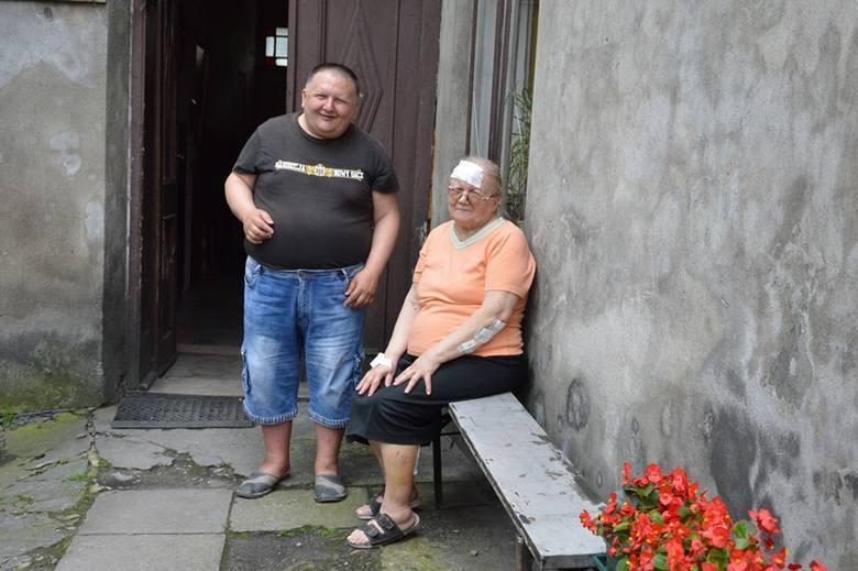 Nowy Sącz: Podłoga w mieszkaniu runęła do piwnicy razem z lokatorką