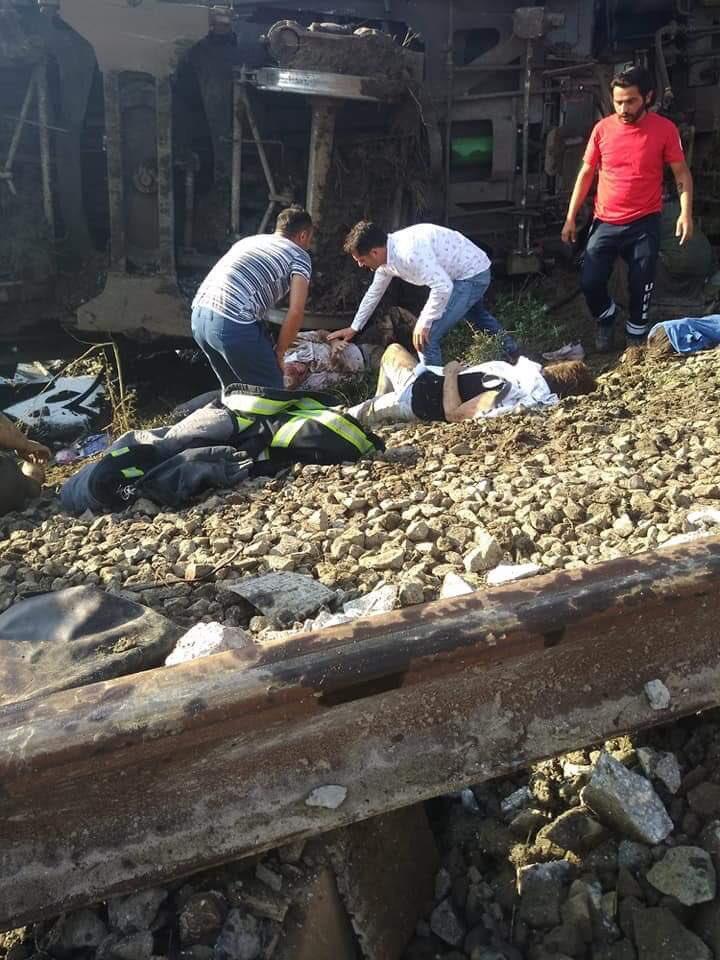 Turcja: 24 osoby zginęły w katastrofie kolejowej