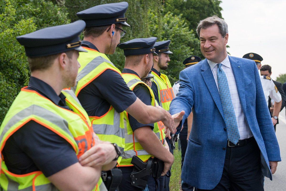 Niemcy: Władze Bawarii powołały własną policję graniczną, by strzec granic przed napływem migrantów