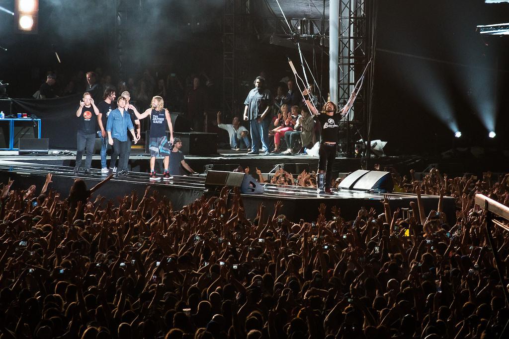 Kobieta zgwałcona podczas konceru Foo Fighters w Chicago