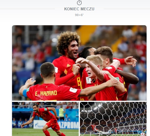 MŚ – Brazylia i Belgia w ćwierćfinale. Meksyk i Japonia żegnają się z mundialem