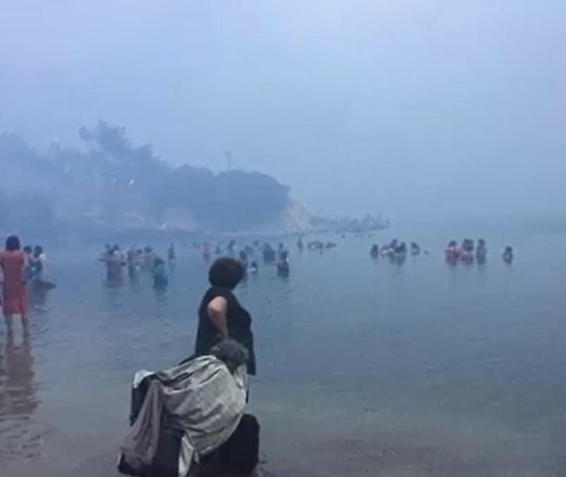 Ponad sześćdziesiąt osób zginęło w pożarach w greckiej Attyce! 150 w szpitalach. Kilkanaście w stanie ciężkim