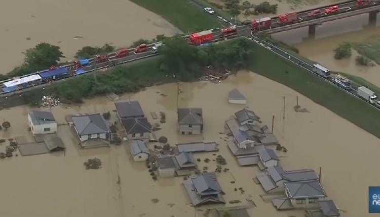 Japonia: Rośnie liczba ofiar powodzi i osunięć ziemi