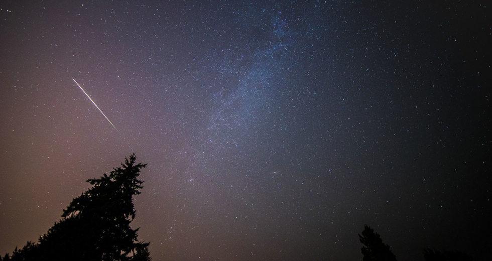 W Illinois można było zobaczyć spadający meteor