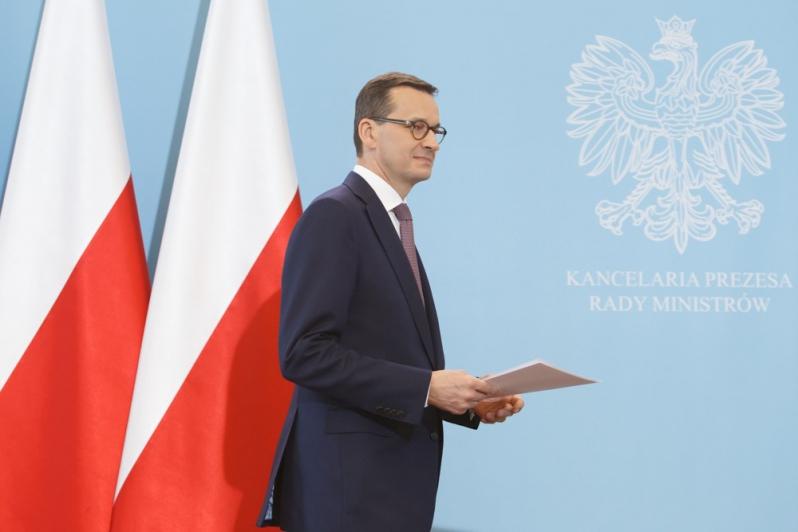 Morawiecki na czas wyborów do PE ogłasza… alarm