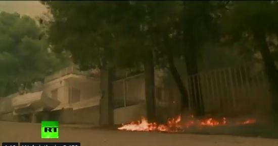 Grecja: Dochodzenie przeciwko podpalaczowi w Attyce