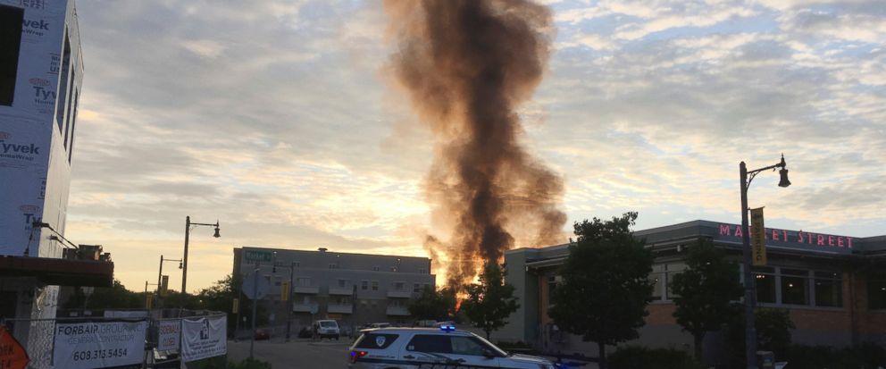 Wisconsin: Eksplozja gazu. Rannych zostało dwóch strażaków i policjant