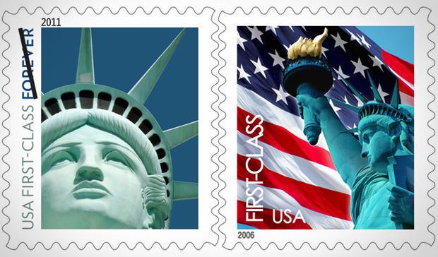 Amerykańska poczta podnosi ceny znaczków