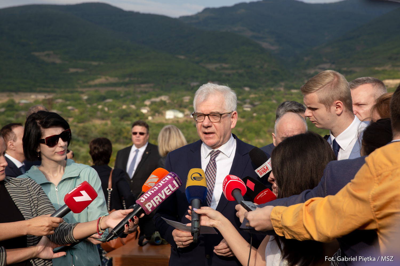 Minister Czaputowicza w Gruzji z okazji 10. rocznicy agresji Rosji na ten kraj. PODSUMOWANIE