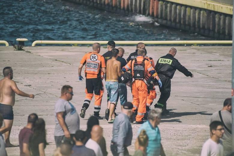 Dramat w Darłowie: Śmierć atrakcją dla turystów?