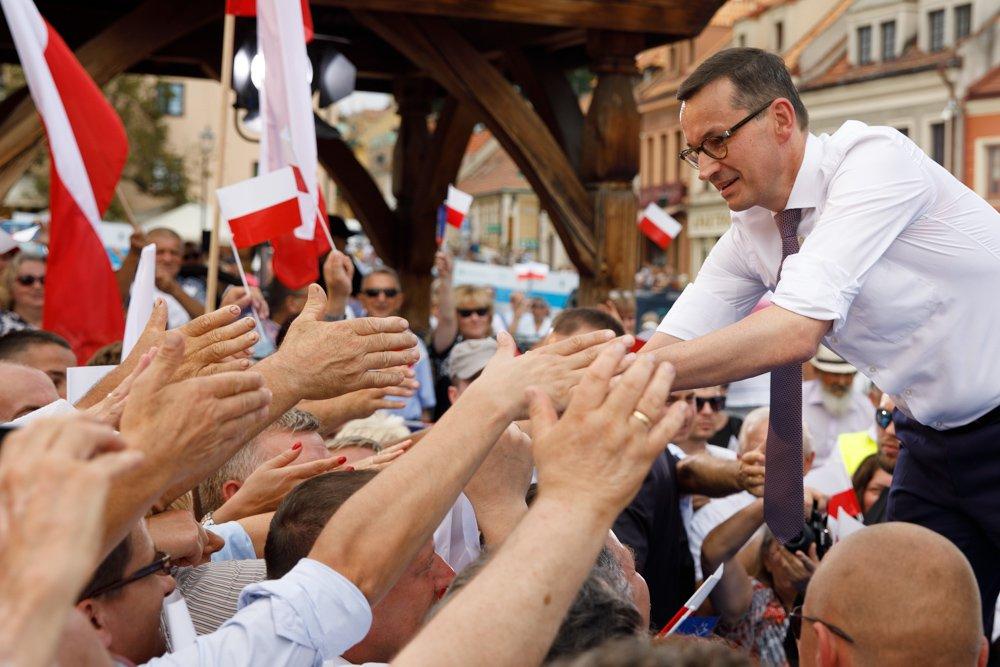 """Morawiecki staruje z Katowic. """"Kto wygrywa na Śląsku, wygrywa w całym kraju"""""""