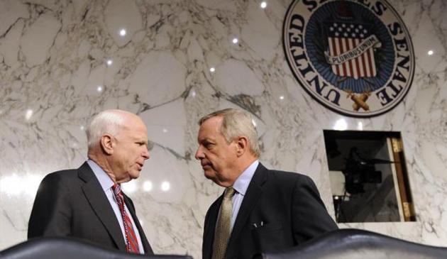 Kondolencje dla rodziny senatora Johna McCaina od polityków z Illinois