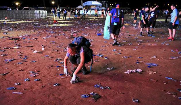 Rozpoczęło się sprzątanie po Lollapalooza