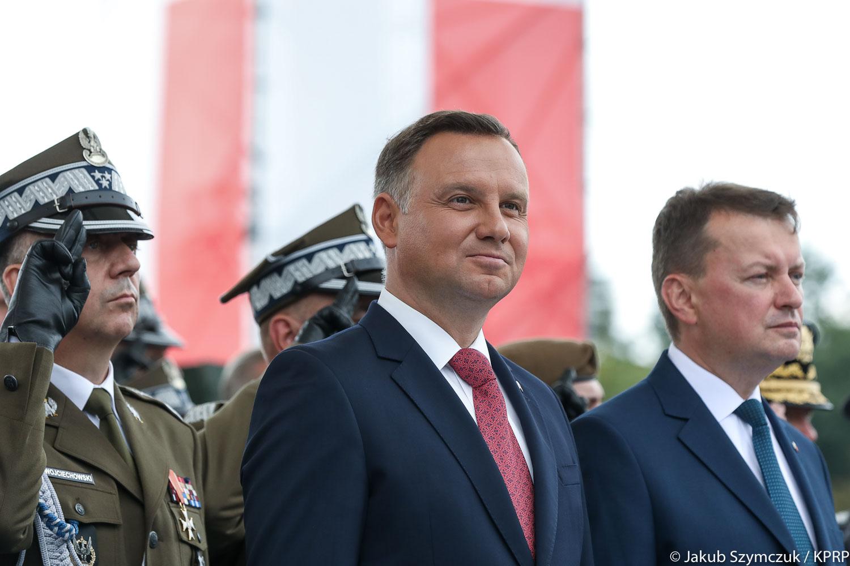 Prezydent Duda odebrał Wielką Defiladę Niepodległości w Święto Wojska Polskiego