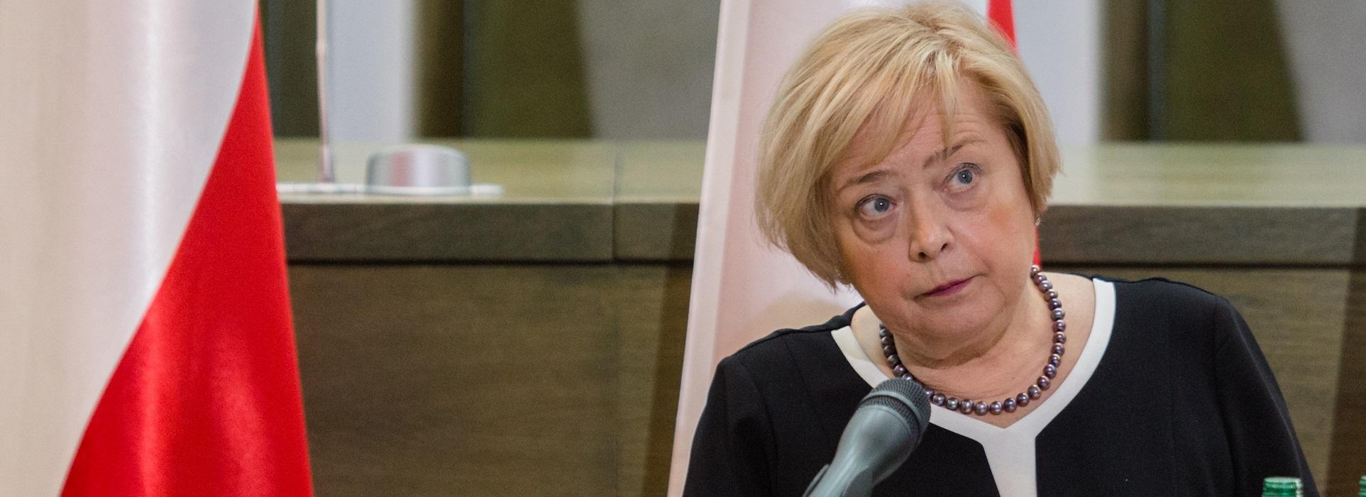 Rzecznik prasowy Sądu Najwyższego: Przypuszczam, że Małgorzata Gersdorf opuści budynek Sądu Najwyższego w przyszłym tygodniu