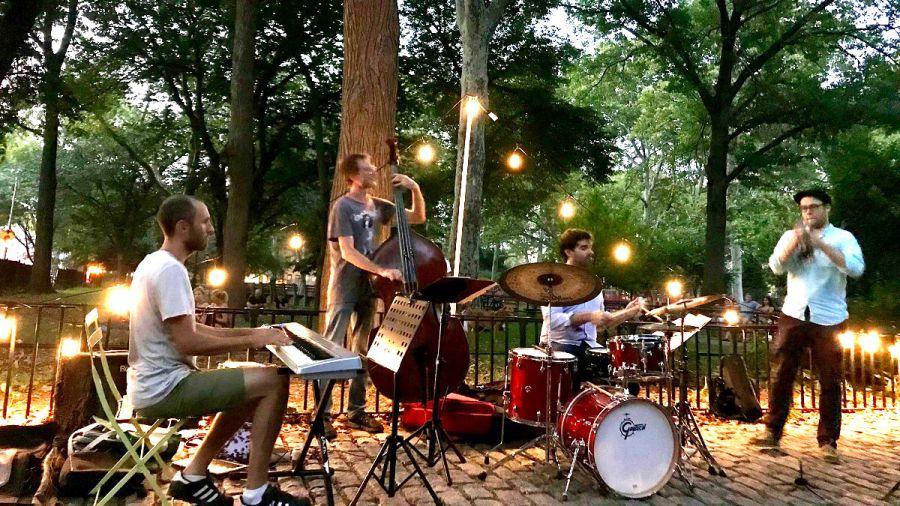 Jazzowy piknik pod chmurką w McGorlick Park na Greenpoincie