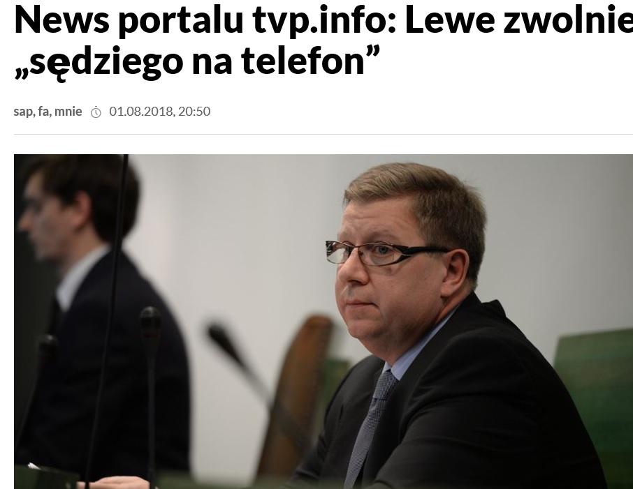 Sędzia Milewski na cenzurowanym: ZUS sprawdzi zasadność jego zwolnienia lekarskiego