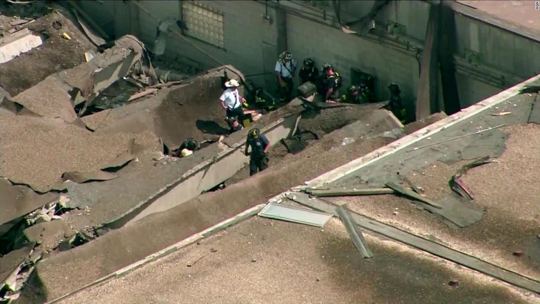 Wybuch gazu w oczyszczalni wody w Chicago. 10 osób rannych