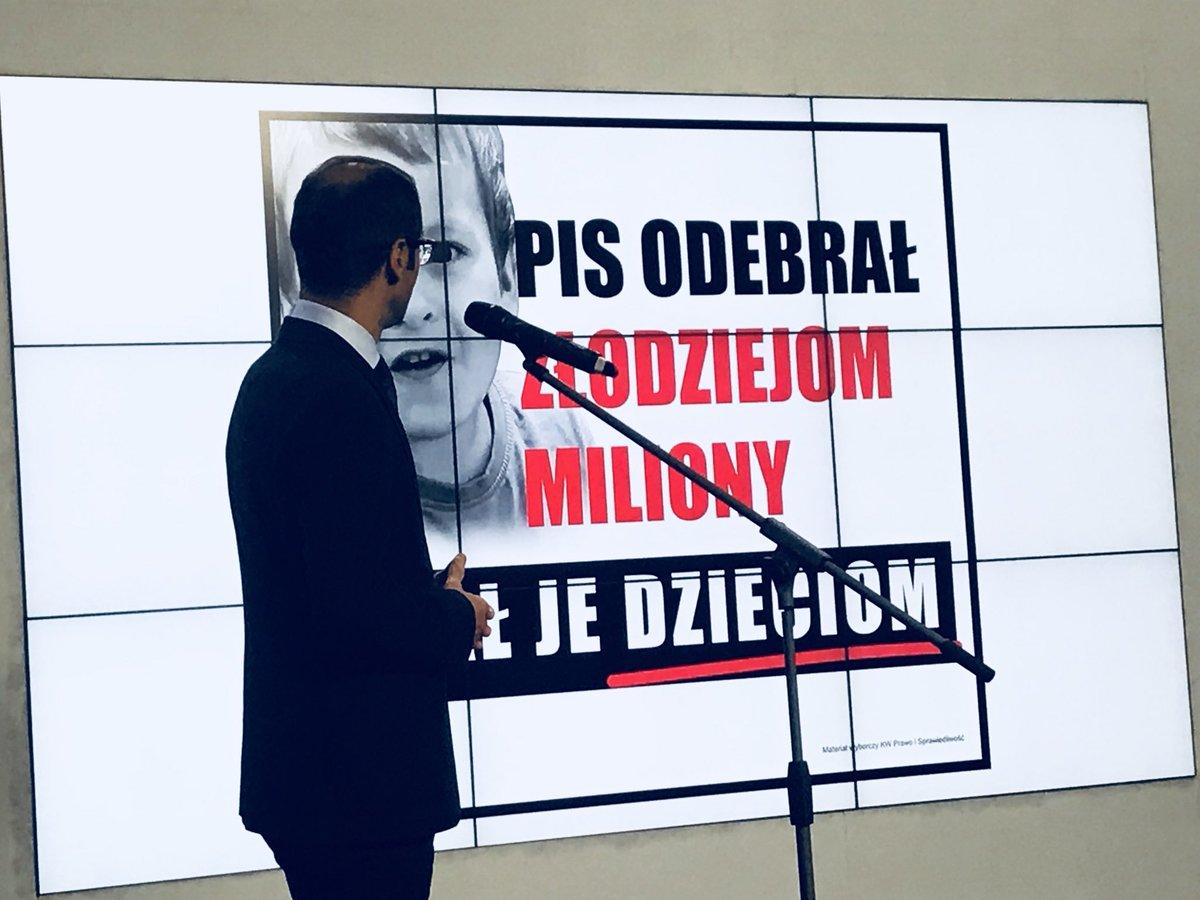 PO o kampanii billboardowej PiS: PiS daje miliony ale… swoim dzieciom