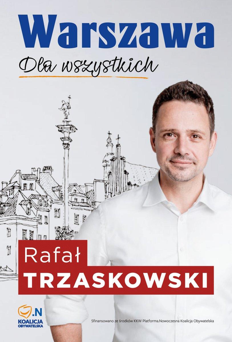 """Warszawa. Hasło Trzaskowskiego: """"Warszawa dla wszystkich"""". Dla mafii reprywatyzacyjnej też…? [WIDEO]"""