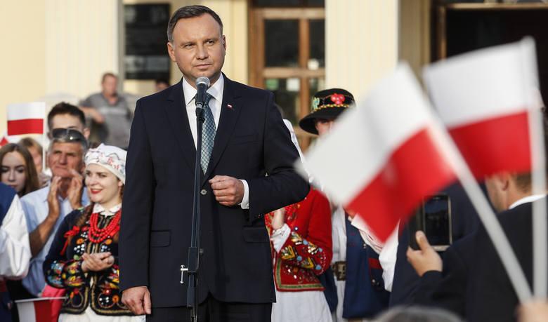 """Prezydent w Leżajsku: Kiedy nasze sprawy zostaną rozwiązane, będziemy zajmować się sprawami europejskimi. """"Wyimaginowany prezydent?"""""""