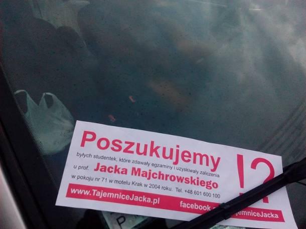 Kraków: Ktoś poszukuje studentek Jacka Majchrowskiego z Motelu Krak