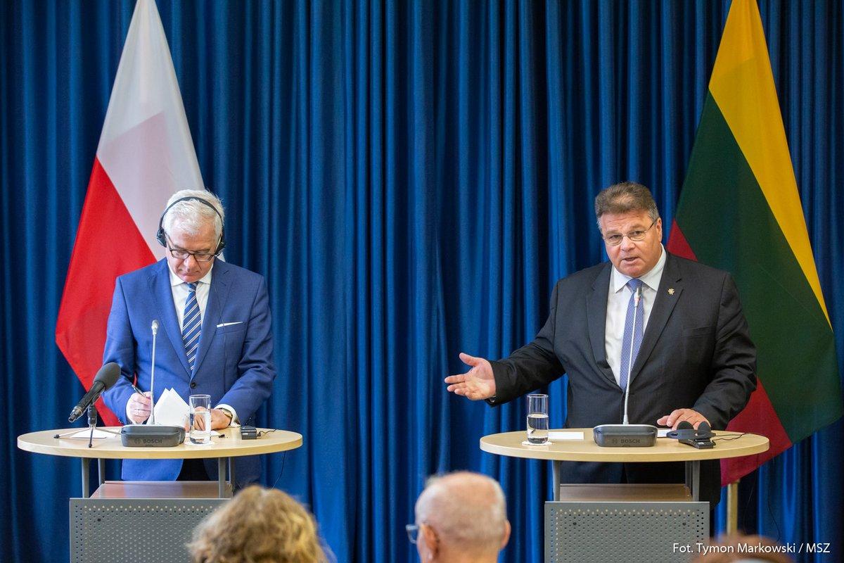 Szef litewskiego MSZ: będziemy sprzeciwiać się sankcjom przeciw Polsce