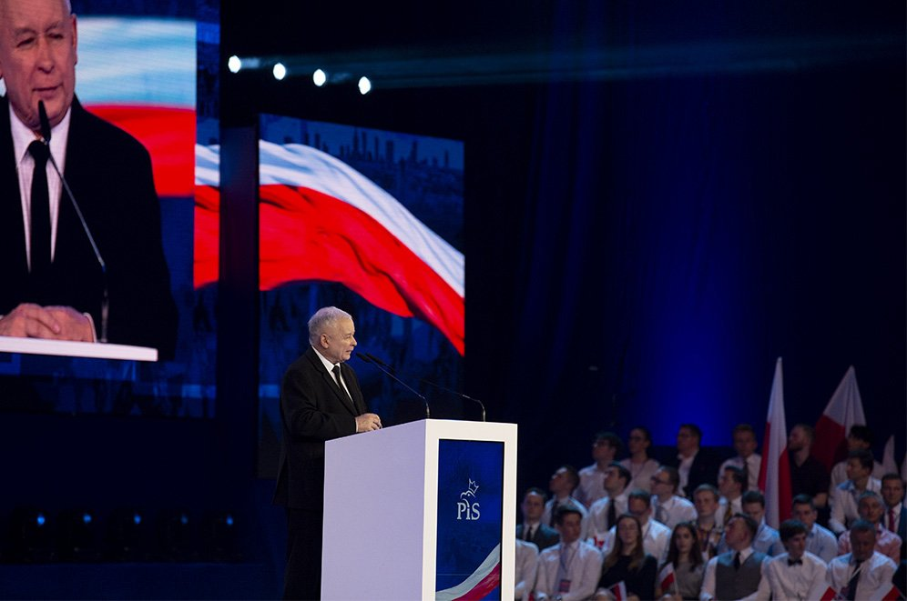 Kaczyński: Wysoki poziom życia Polakom, jako Europejczykom, się należy