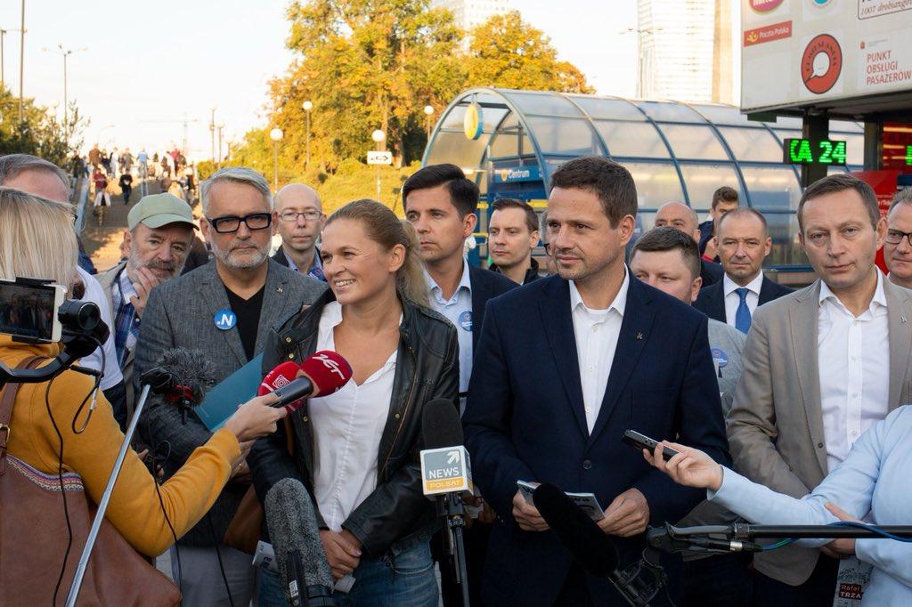 Barbara Nowacka poparła Rafała Trzaskowskiego