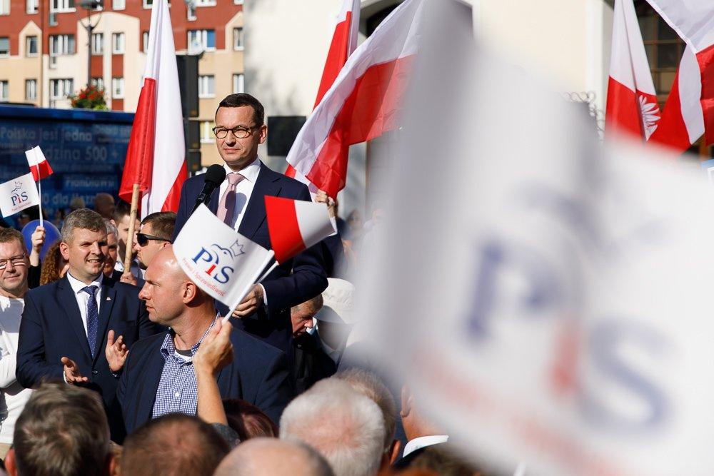 """Spotkania wyborcze PiS w województwie zachodniopomorskim. """"Historia biegnie nadal i nikt nie wie, w jakim kierunku"""""""
