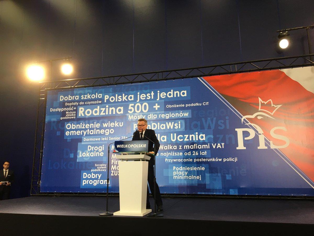 Morawiecki: Tadeusz Zysk zrobi z Poznania perłę Europy