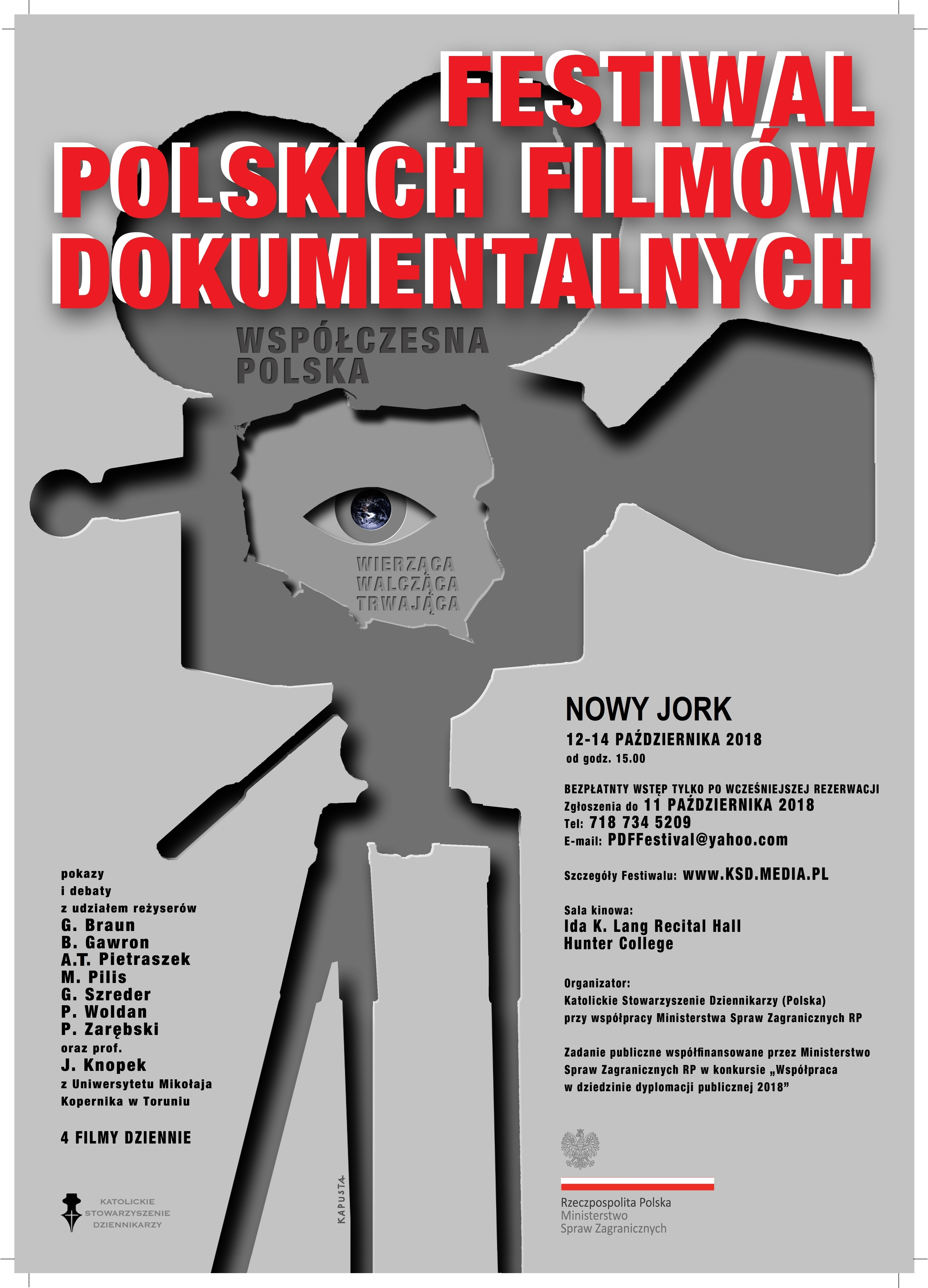 Polish Documentary Film Festival w Nowym Jorku