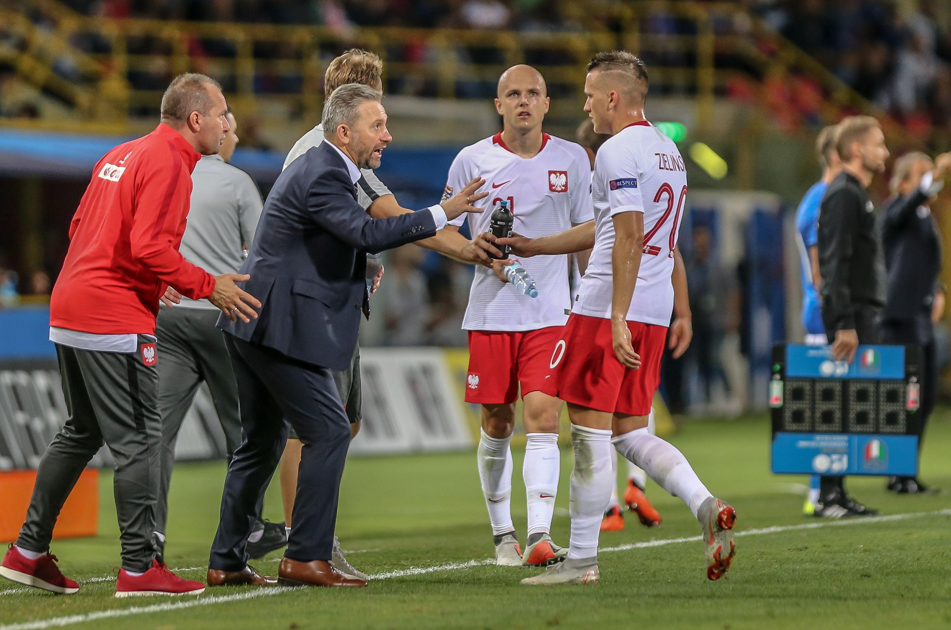 Piłka nożna. Reprezentacja Polski: Brzęczek ogłosił kadrę na mecze z Austrią i Łotwą