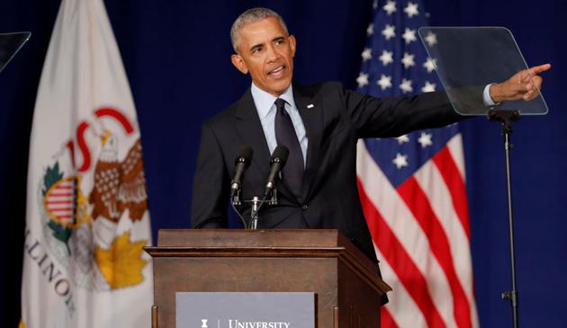 Barack Obama skrytykował prezydenta Donalda Trumpa