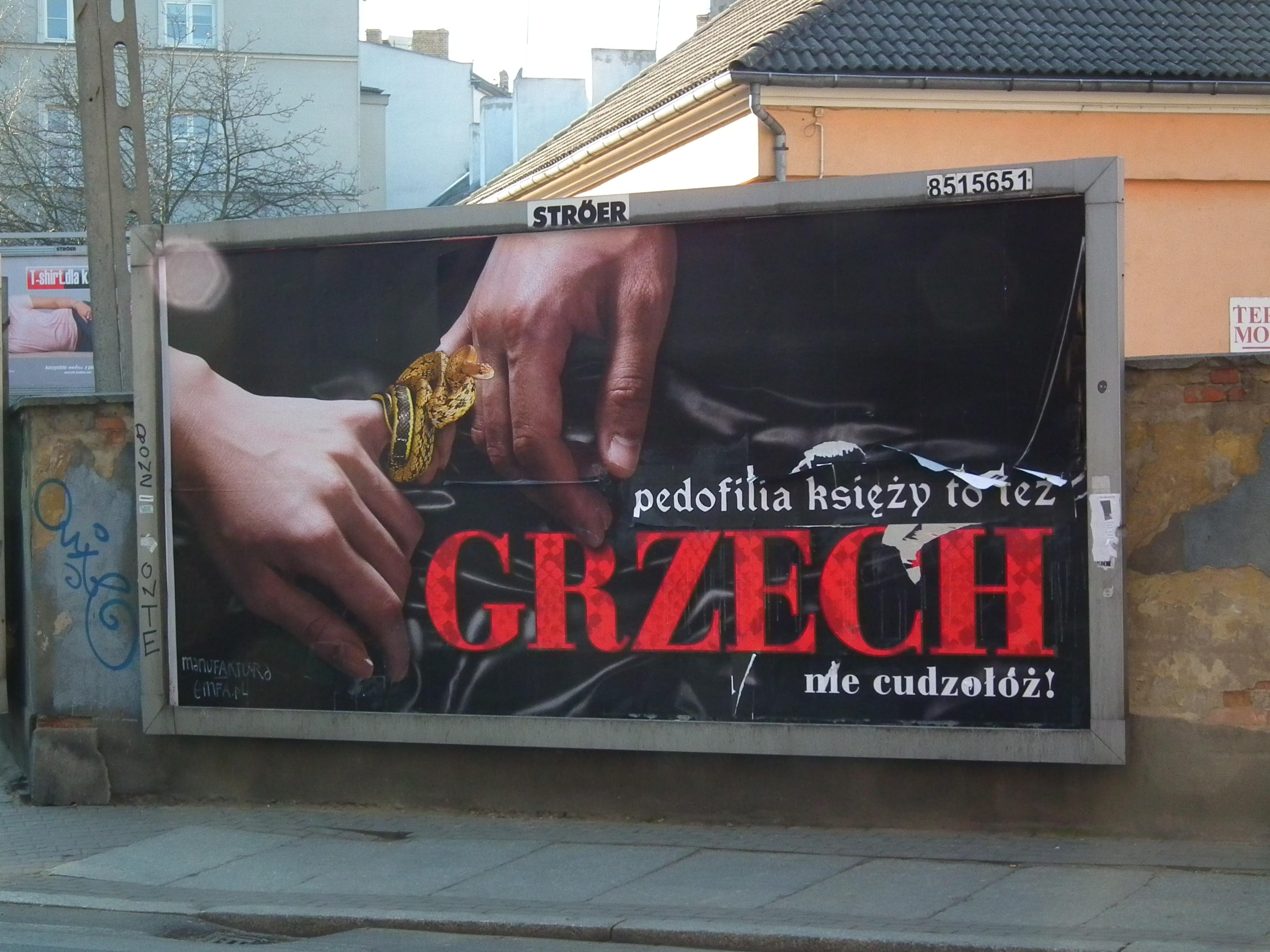 Powstanie interaktywna mapa pedofilów w polskich kościołach
