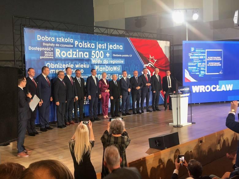 Kaczyński na konwencji PiS we Wrocławiu: musimy  wygrać te wybory dla dobra Polski