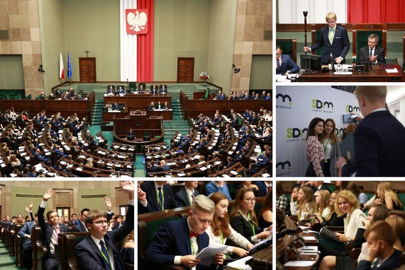 24. sesja Sejmu Dzieci i Młodzieży