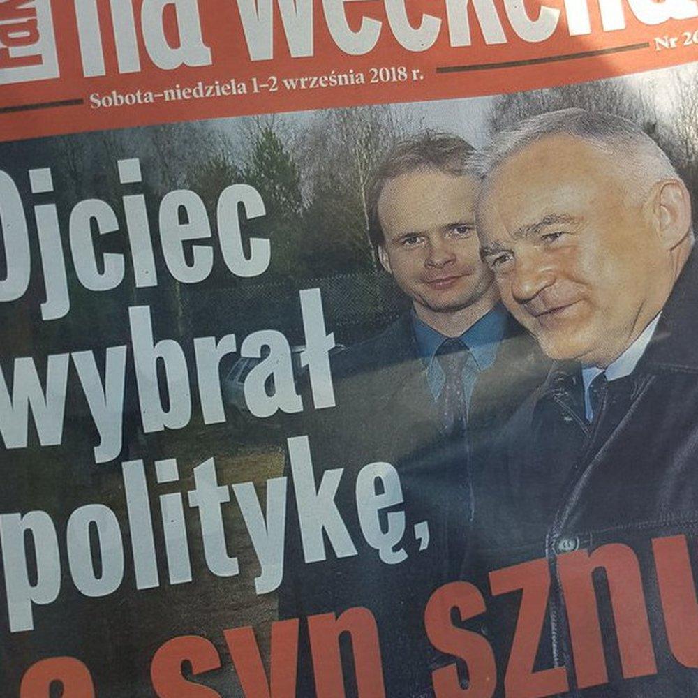 """Oburzająca okładka weekendowego wydania """"Faktu"""". Tytuł odwołujący się do śmierci Leszka Millera Jr, wywołał falę ostrej krytyki. Jest oświadczenie Rady Press Club Polska"""