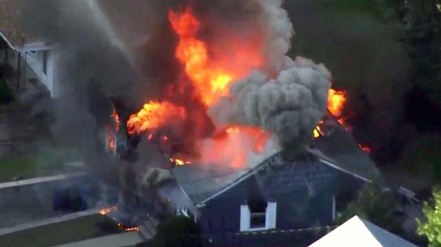"""Boston: Seria wybuchów gazu. Kilkadziesiąt domów zniszczonych. """"To był Armagedon"""""""